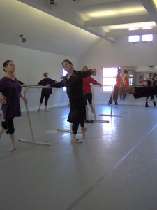 Marina teaching at Shawl Anderson, Berkeley CA
